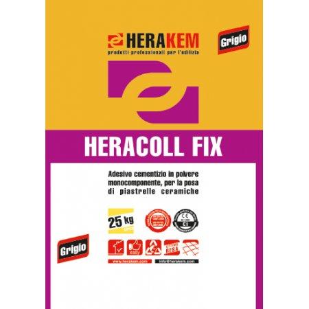 HERACOLL FIX GRIGIO KG.25...