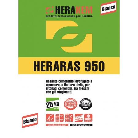 HERARAS 950 BIANCO KG.25...